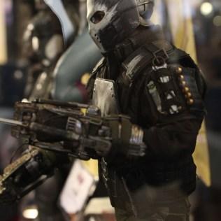 Crossbones CIVIL WAR Action Figure By Hot Toys
