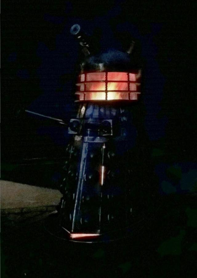 Dalek Wood Burning Fire Pit