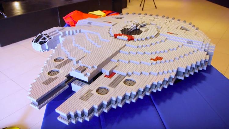 World's Biggest LEGO Millennium Falcon