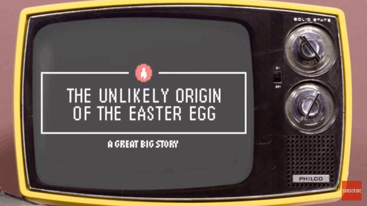 Origin Story of the Video Game Easter Egg