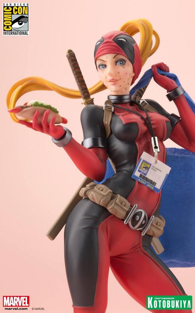 Lady Deadpool Statue