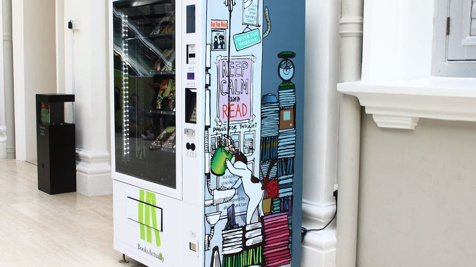 Vending Machines That Sell Books