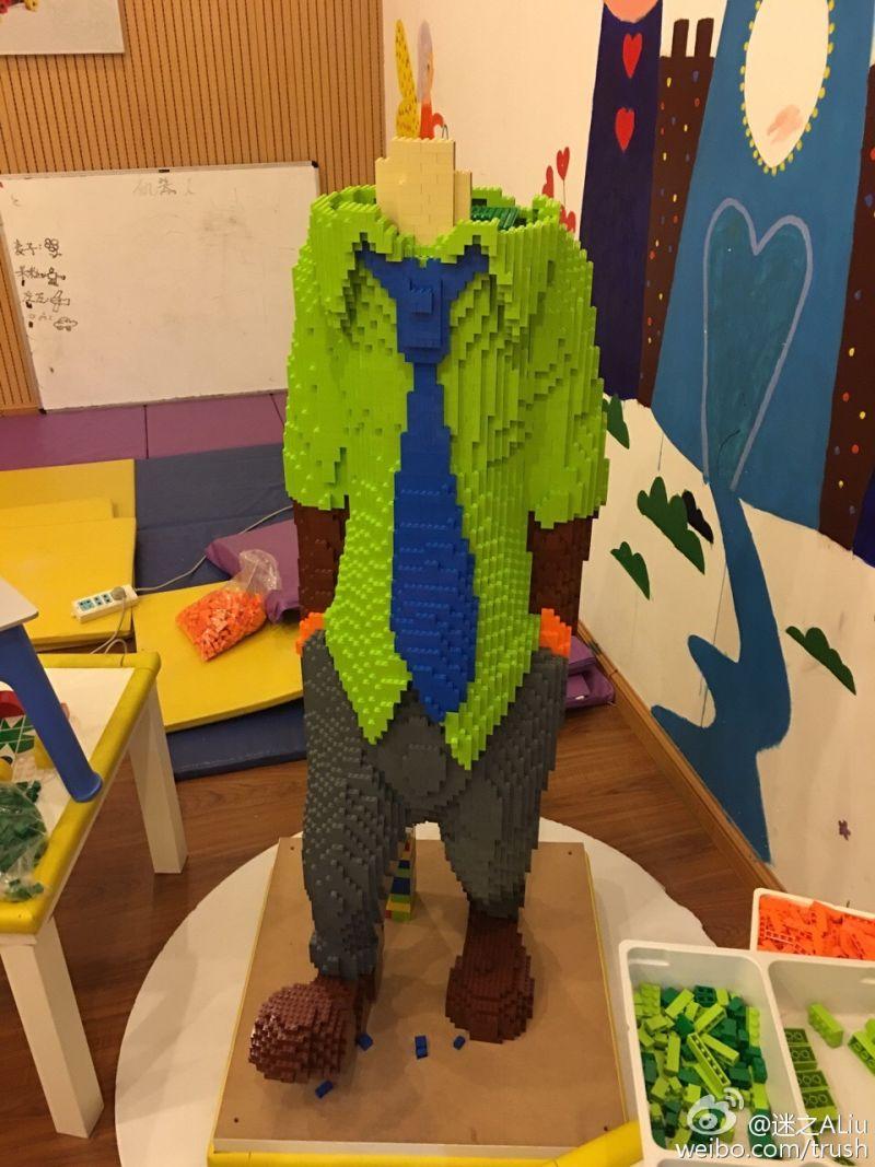 Zootopia Lego Sculpture