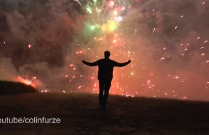 Colin Furze Detonates 5000 Fireworks Simultaneously