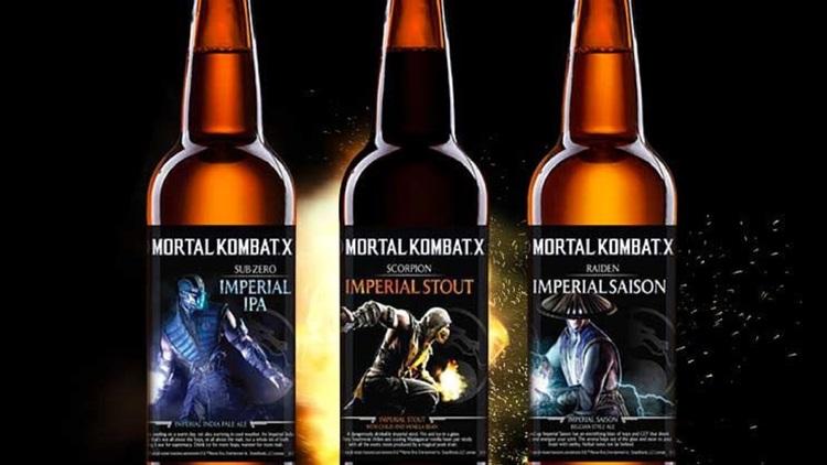 MORTAL KOMBAT Licensed Beer