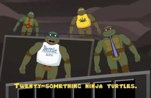 The Turtles Enter Their 20s