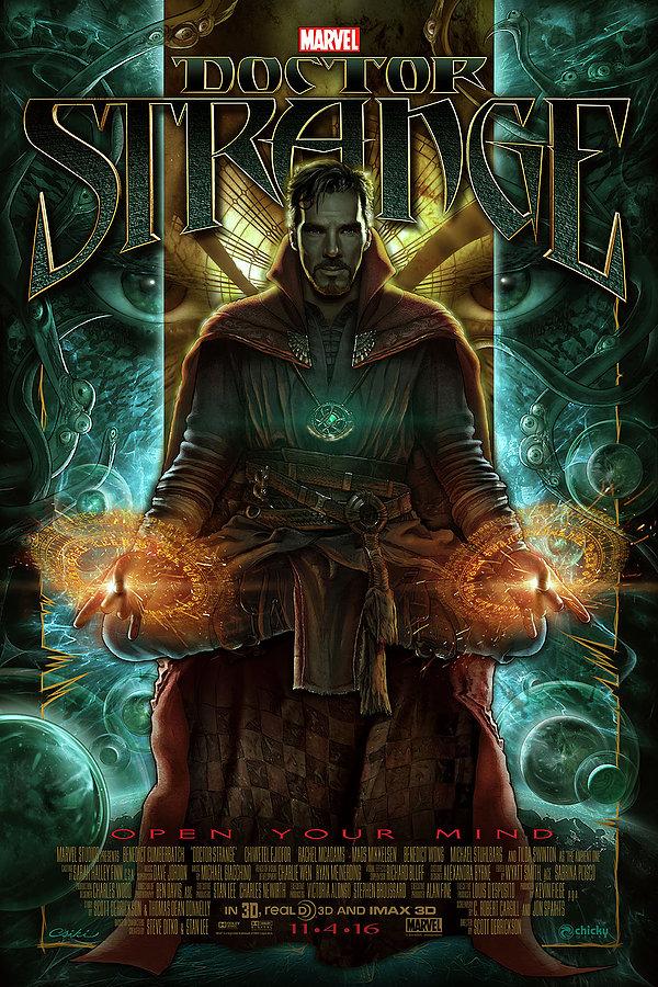 Poster Art For DOCTOR STRANGE