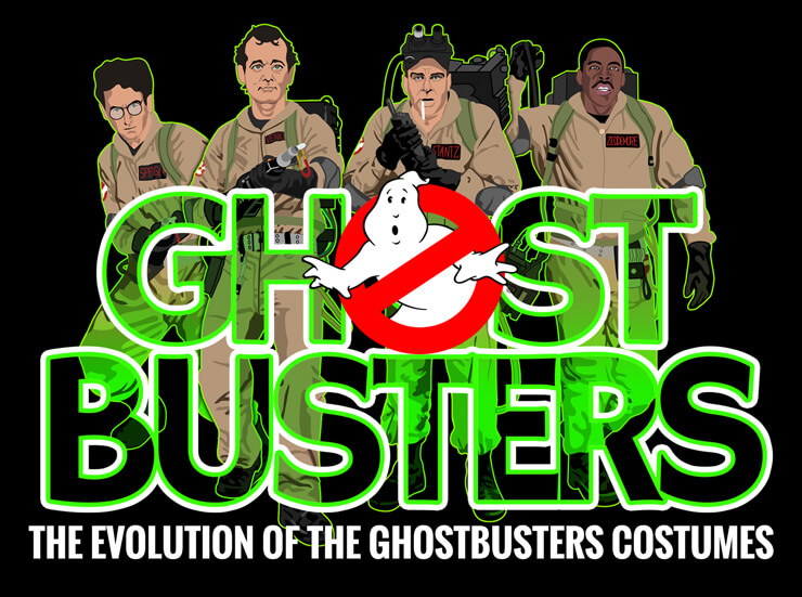 Evolution Of The Ghostbusters Costumes