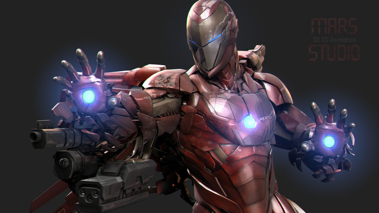 Iron Man Armor Design