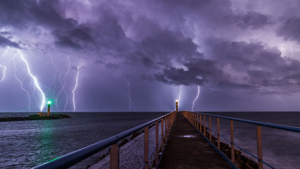 Purple Rain, Port-la-Nouvelle, France