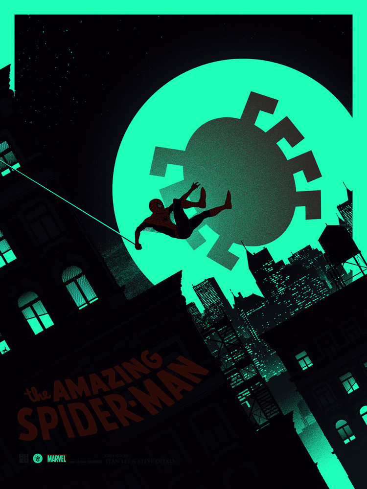 AMAZING SPIDER-MAN Art Print