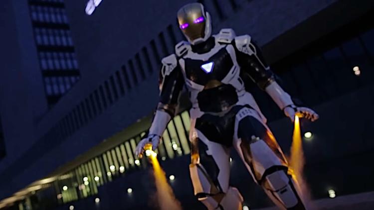 Iron Man Gemini Armor