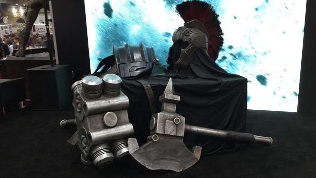 Thor: Ragnarok's Gladiator Hulk Armor