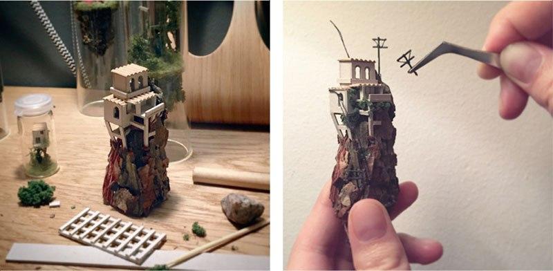 Insane Suspended Tiny Homes Inside Test Tubes