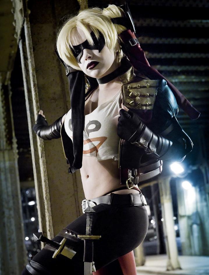 Injustice Gods Among Harley Quinn Video Game Jacket