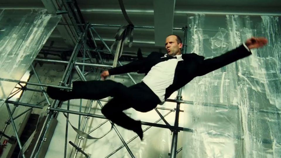 Jason Statham Kicks