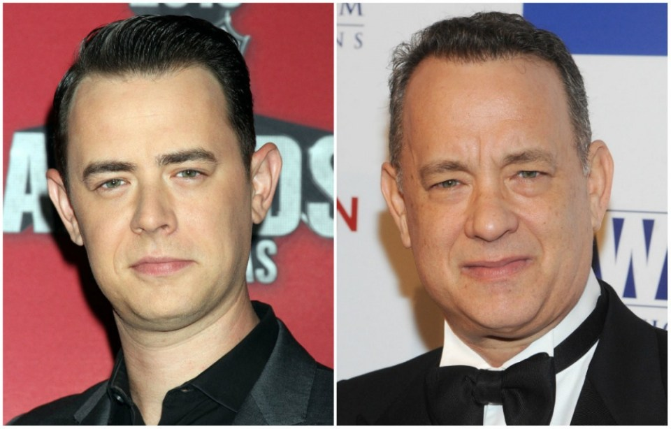 Colin Hanks and Tom Hanks