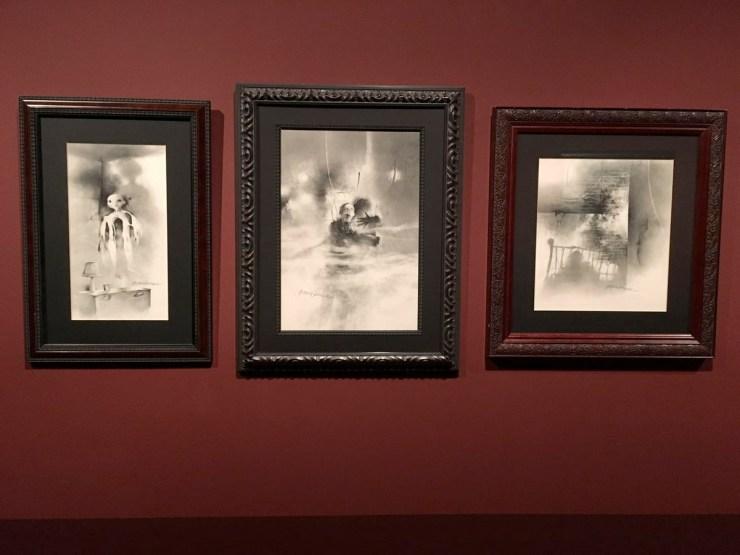 Guillermo Del Toro Shares His Bleak House Art Exhibit (9)
