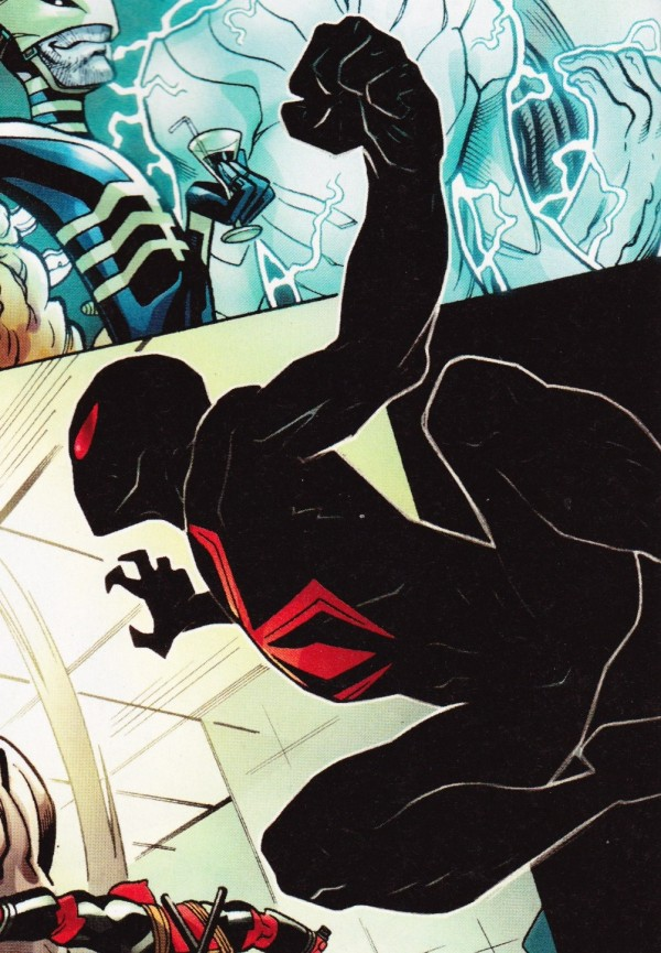 Spider-Man's New Costume in the Comics