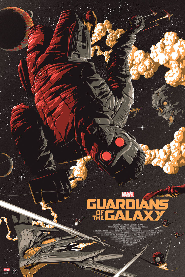 Stunning GUARDIANS OF THE GALAXY Poster Art  (2)