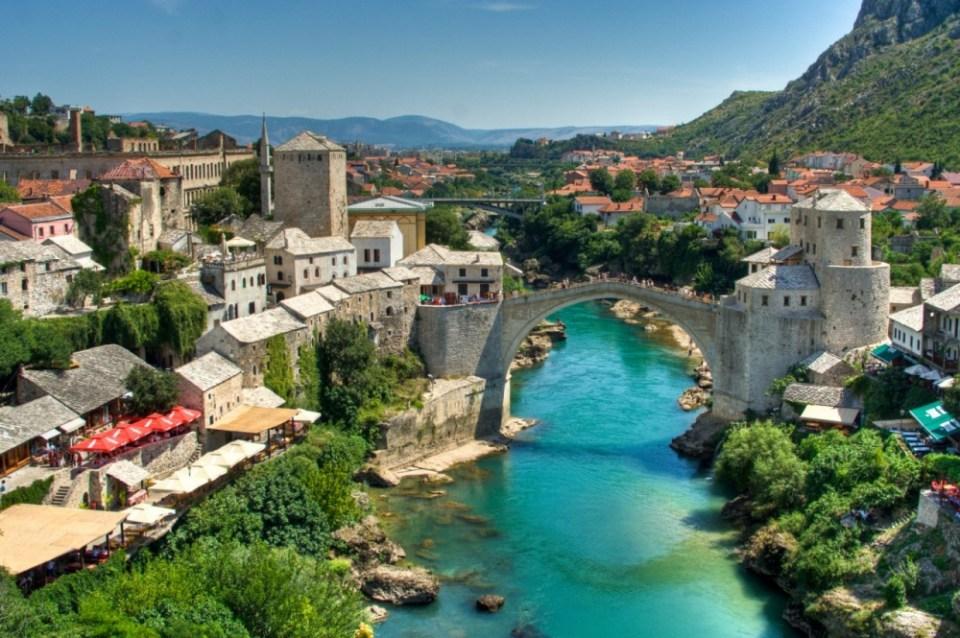 Stari Most (The Old Bridge), Bosnia-Herzegovina