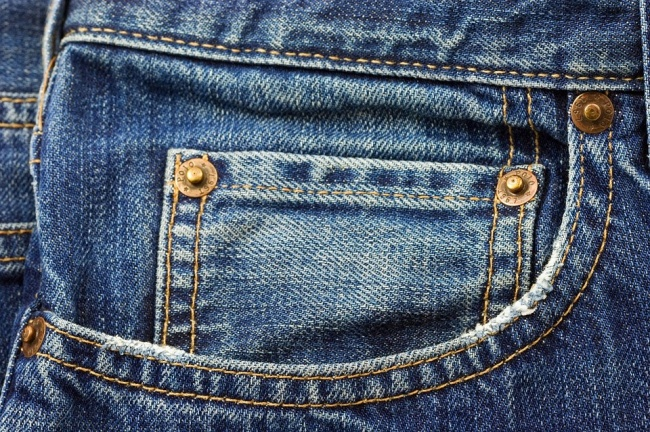 The small pocket within a pocket on your jeans