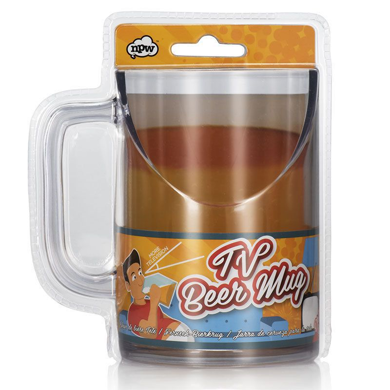 TV Beer Mug
