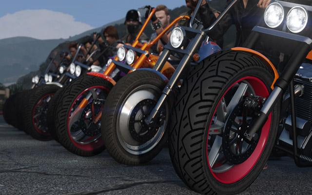 Grand Theft Auto V biker dlc