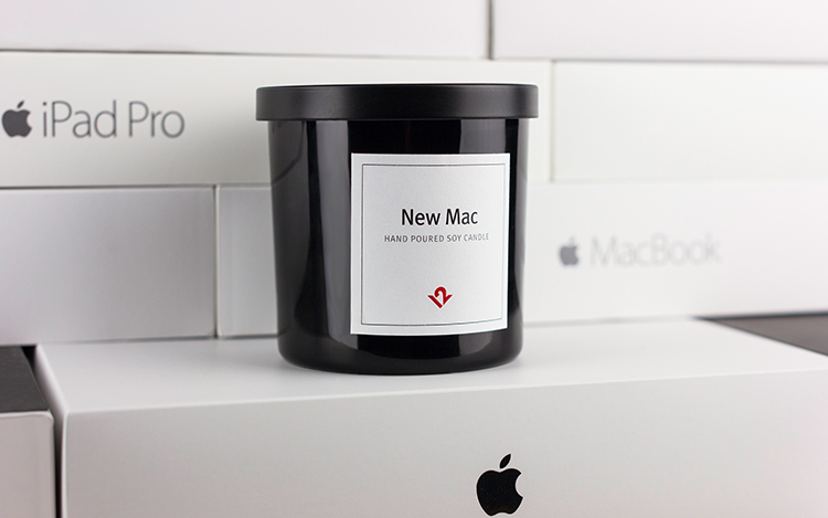 Apple Mac Scented Candle