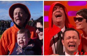 Tom Hanks Recreates THAT Bill Murray Photo