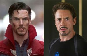 Dr. Strange and Iron Man