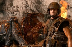 STARSHIP TROOPERS Rare Behind the Scenes Photos