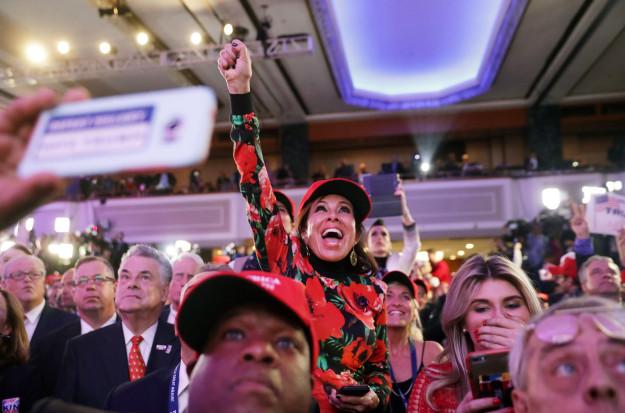 Donald Trump Supporters Celebrating