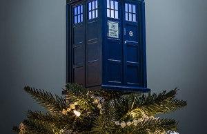 Doctor Who TARDIS Christmas Tree Ornament
