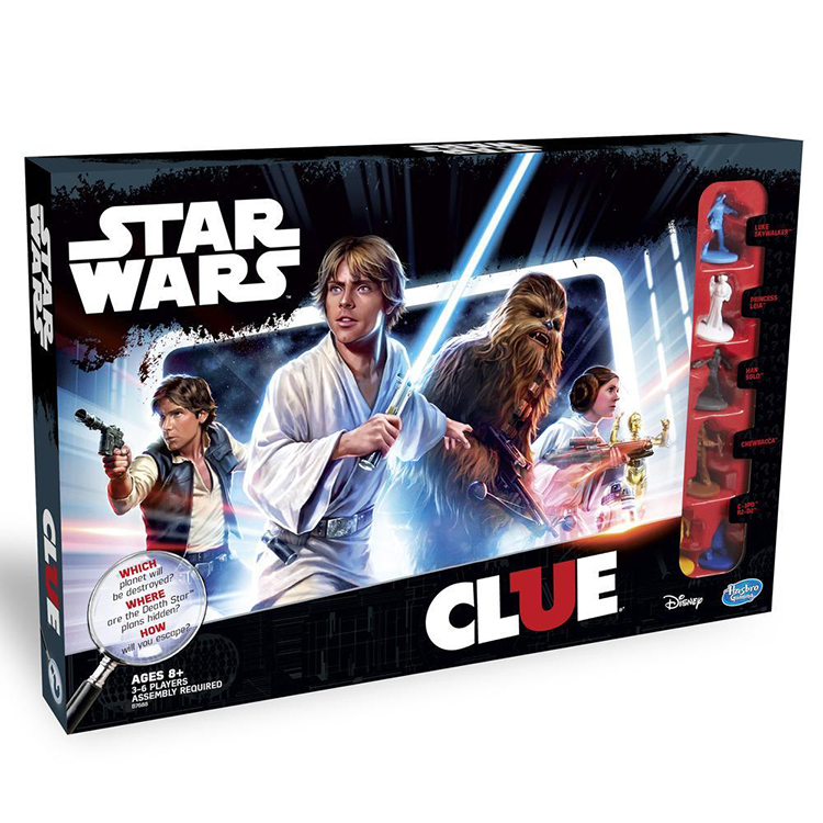 Star Wars Edition of 'Clue'