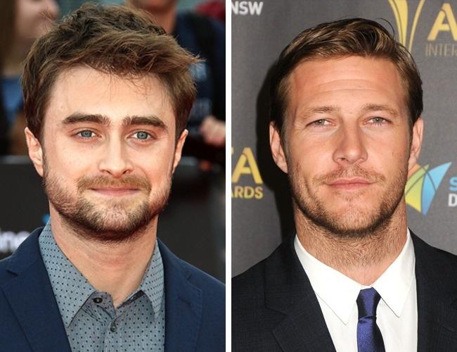 Daniel Radcliffe and Luke Bracey