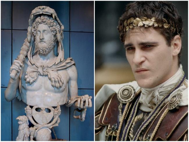 Emperor Commodus in 'Gladiator'
