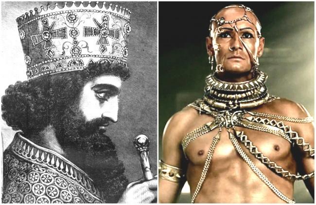 Xerxes I in '300′