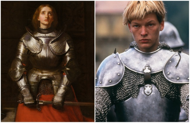 Joan of Arc in 'The Messenger: The Story of Joan of Arc'