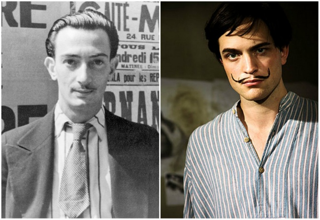The young Salvador Dali in 'Little Ashes'