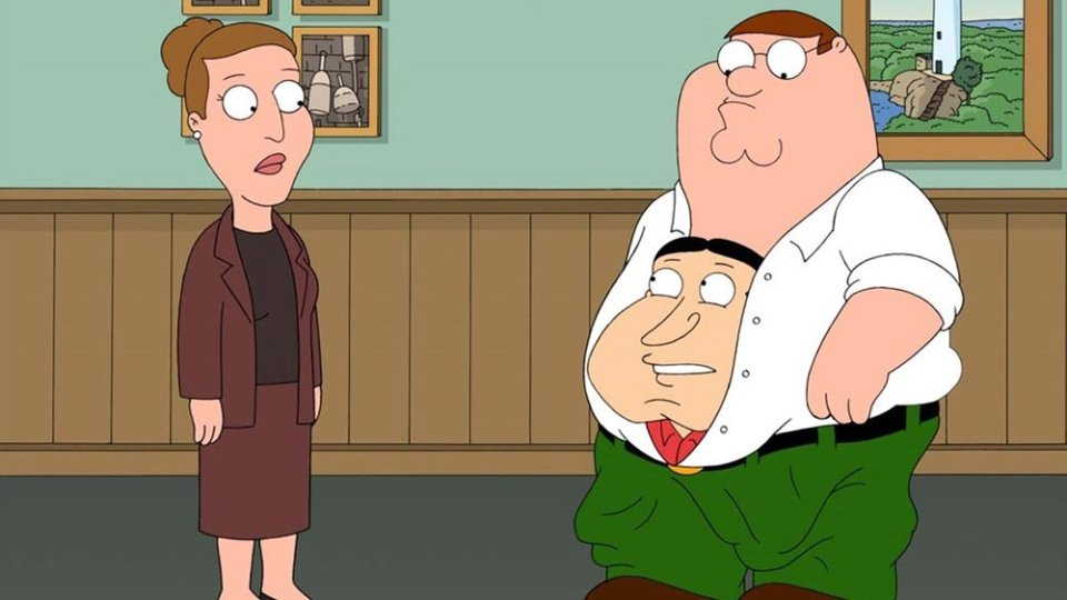 Carrie Fisher in Family Guy