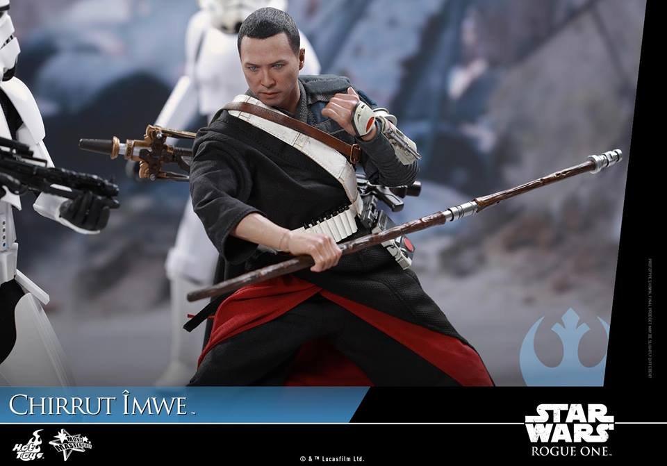 Hot Toys STAR WARS ROGUE ONE Chirrut Îmwe Action Figure