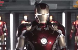 Life-Size Automated Iron Man Armor