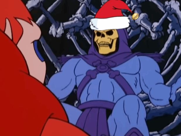 Watch Skeletor Singing Remix Of Mariah Carey's Christmas Song