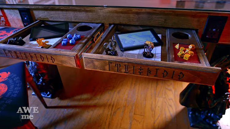 Dungeons & Dragons Gaming Table