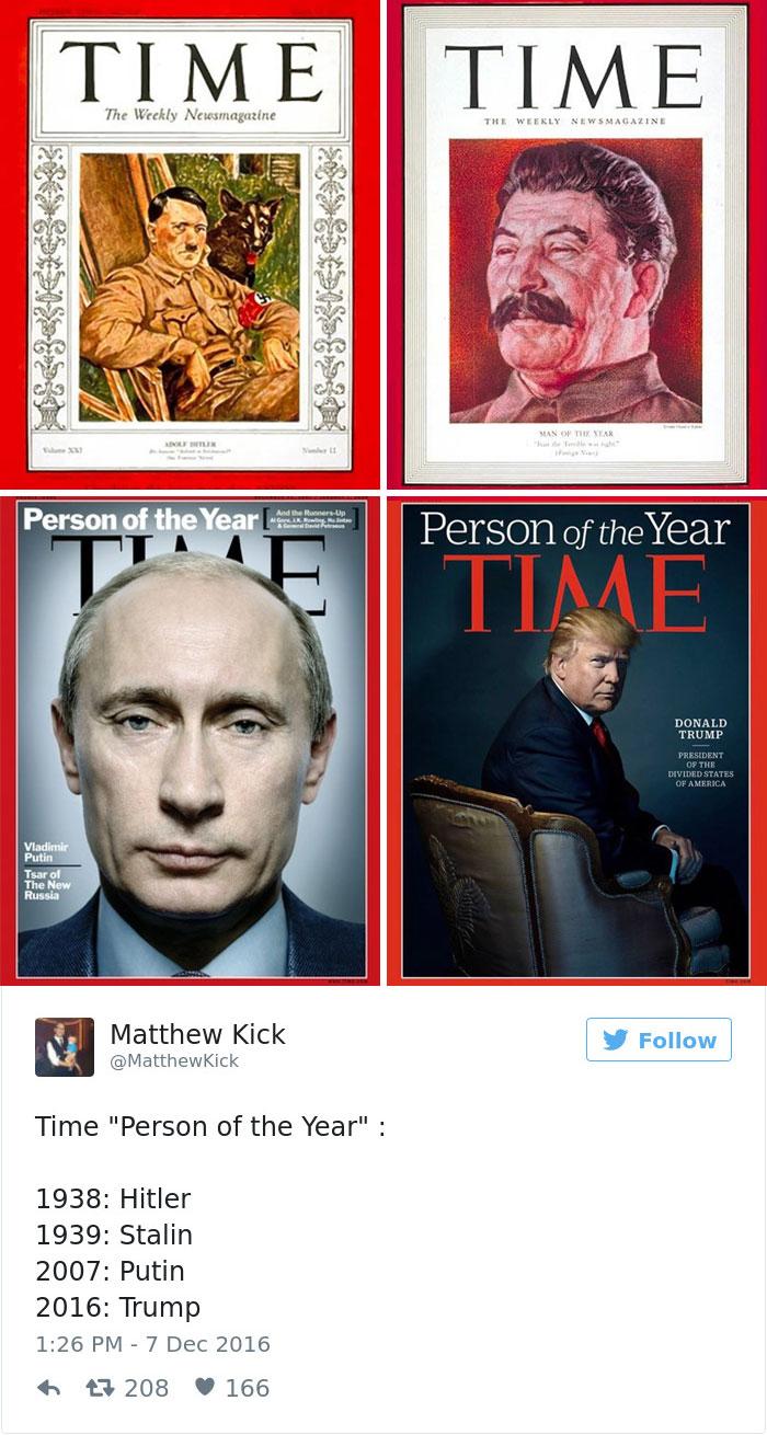 Trump's Time Magazine Cover