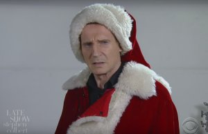 Liam Neeson as Santa