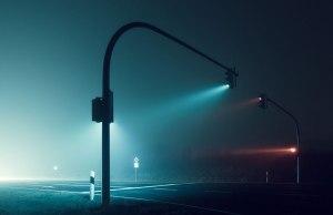 Foggy Nights and Long ExposureLights