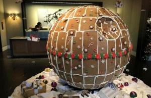 Gingerbread Death Star