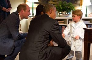The Little Prince Meets the President